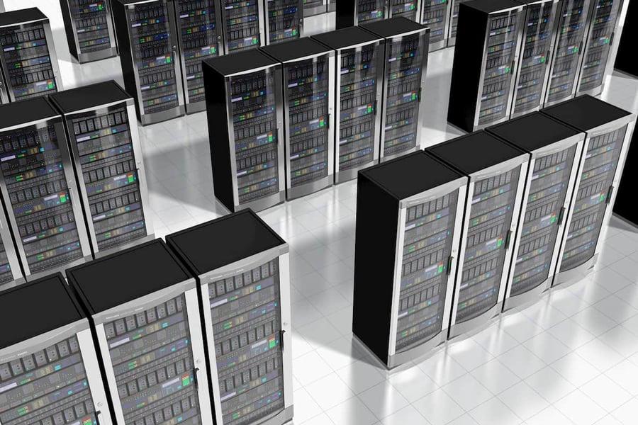 Imagen ilustrativa de servidores físicos