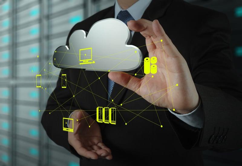 Ilustración de las ventajas de los servidores en la nube
